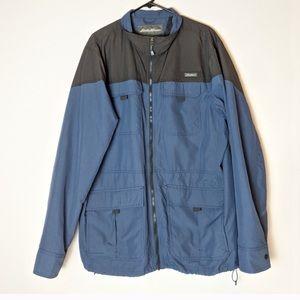 Eddie Bauer windbreaker zip up jacket size TXL
